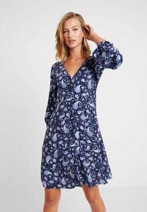 VIMEDA 3/4 DRESS - Abito a camicia - navy blazer