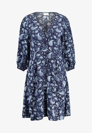 VIMEDA 3/4 DRESS - Košilové šaty - navy blazer