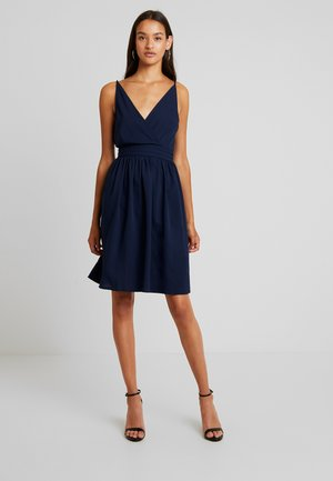 VIBIBBI WAIST DETAIL DRESS - Day dress - navy blazer
