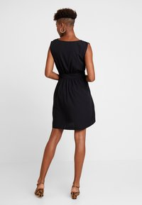 Vila - VIWILMA WAIST DETAIL DRESS/ZA - Korte jurk - black - 3