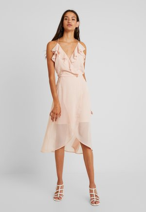 VIJOYO FLOUNCE DRESS - Cocktailjurk - rose smoke