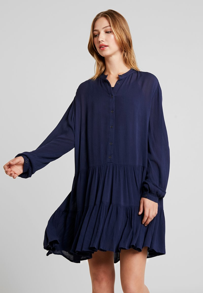 Vila - VIOLEAN DRESS - Blusenkleid - navy blazer