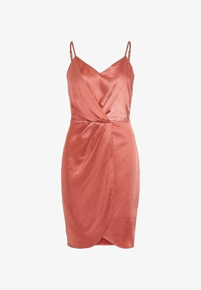 VISATENY S/L DRESS/DC - Korte jurk - dusty cedar