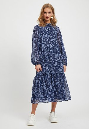 VIMEDOVA ANKLE DRESS - Robe longue - navy