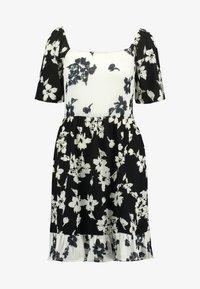 Vila - Denní šaty - black/white - 4