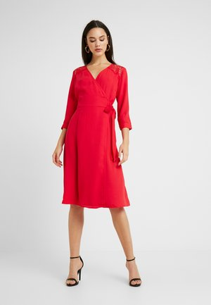 Day dress - racing red