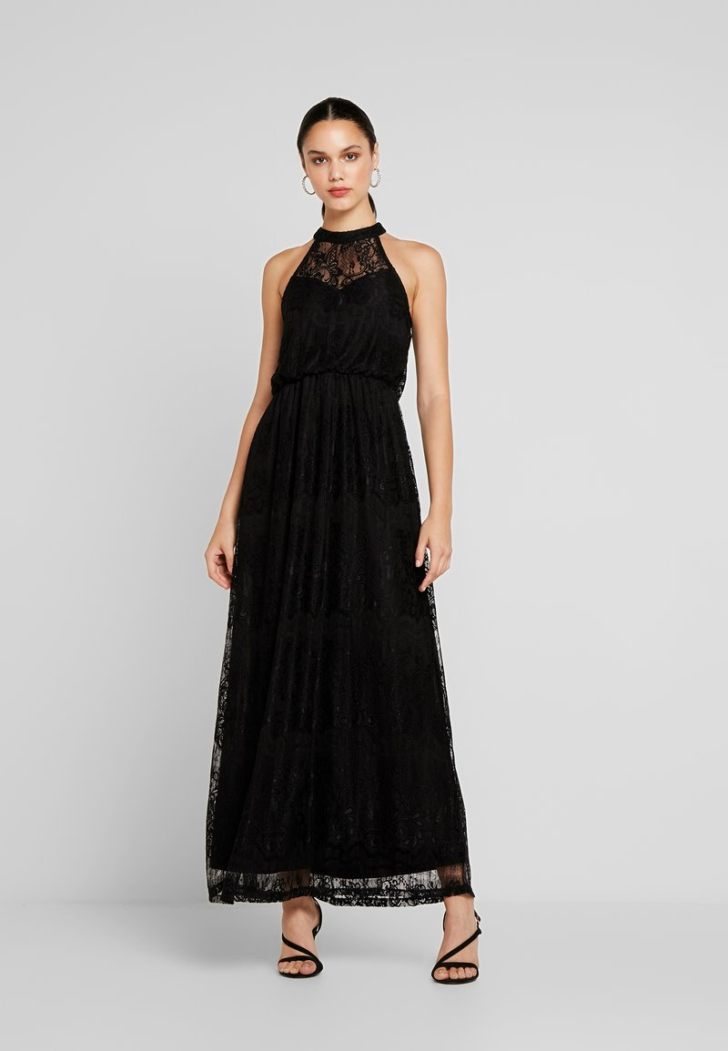 Vila - VICHANON HALTERNECK DRESS - Occasion wear - black