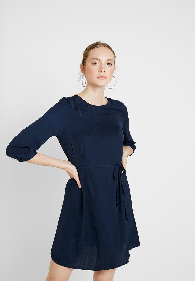 Vila - VISOLIN DRESS - Day dress - navy blazer