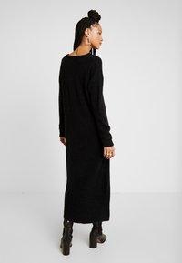Vila - Gebreide jurk - black - 3