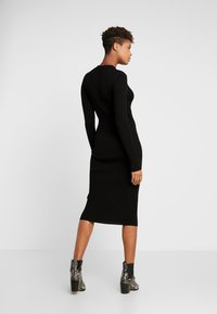 Vila - Robe pull - black - 2