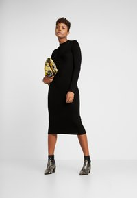 Vila - Robe pull - black - 1