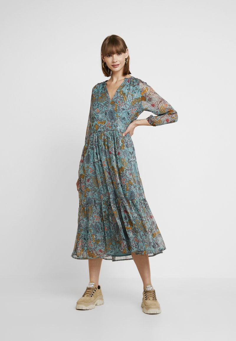 Vila - Maxi dress - oil blue