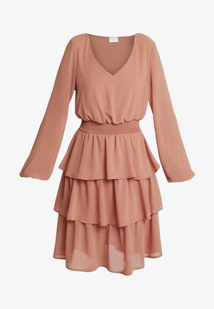 Day dress - terra cotta