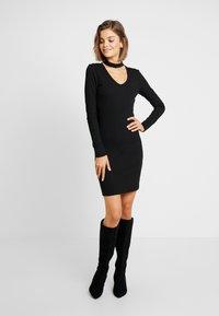 Vila - Denní šaty - black - 0
