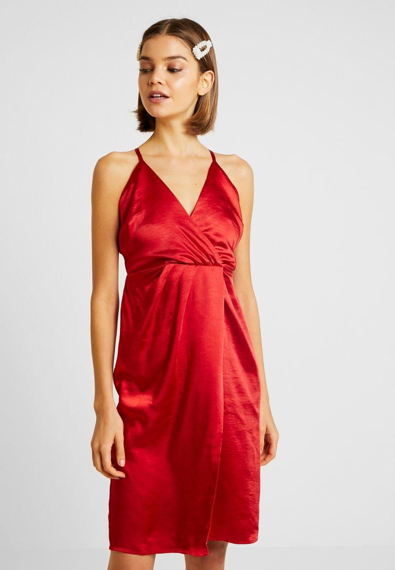Vila - Cocktail dress / Party dress - haute red