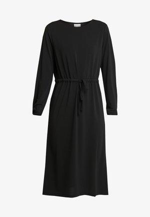 VITELMA DRESS - Jersey dress - black