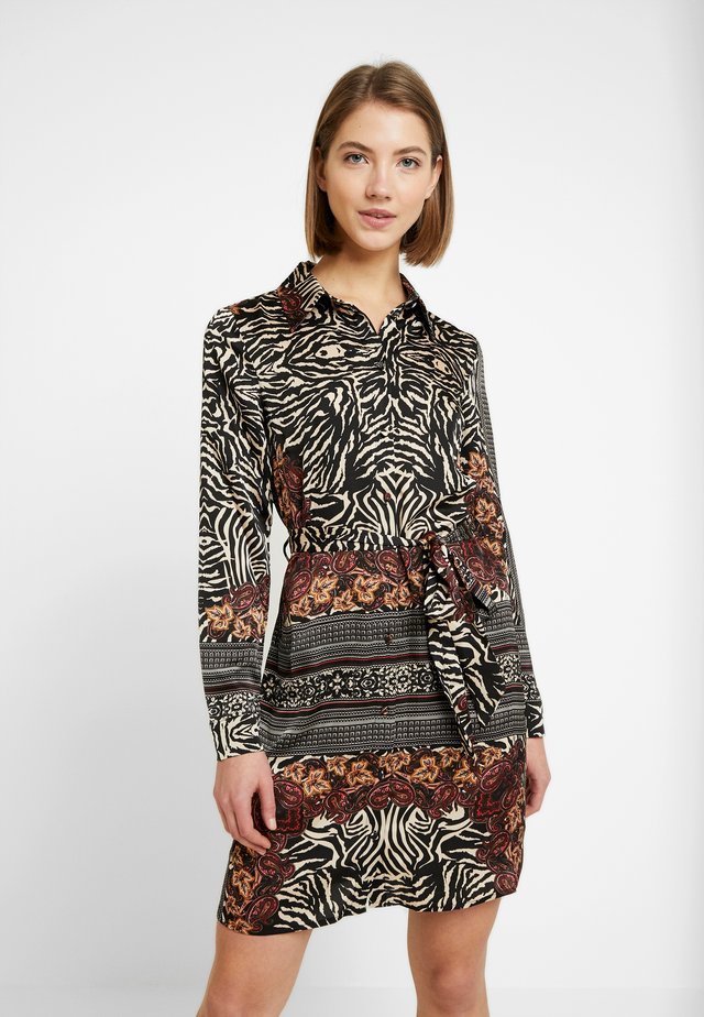 VIBLUME  - Shirt dress - black