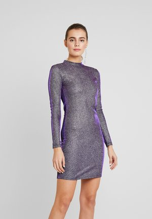 VIMISSI DRESS - Shift dress - black/silver/blue/pink