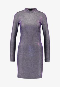 Vila - VIMISSI DRESS - Vestido de tubo - black/silver/blue/pink