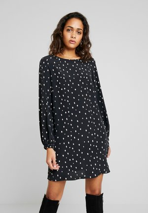 VIEMI SHORT DRESS - Freizeitkleid - black