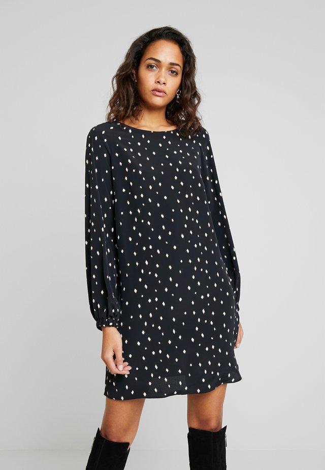 VIEMI SHORT DRESS - Vapaa-ajan mekko - black