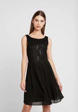 VIGINA DRESS - Cocktailkjole - black