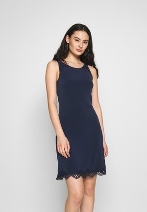 VIJANICE DRESS - Jerseyjurk - navy blazer