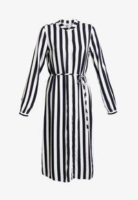 Vila - VISOMMI MIDI SHIRT DRESS - Długa sukienka - navy blazer/snow white - 6