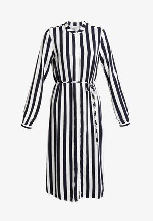 VISOMMI MIDI SHIRT DRESS - Maxi dress - navy blazer/snow white