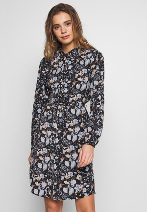 VISUNITA DRESS - Skjortekjole - black