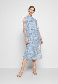 Vila - VIKOTTA MIDI DRESS - Cocktail dress / Party dress - ashley blue - 0