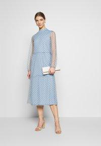 Vila - VIKOTTA MIDI DRESS - Cocktail dress / Party dress - ashley blue - 1