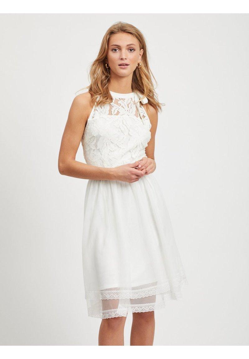 Vila - Vestito elegante - snow white