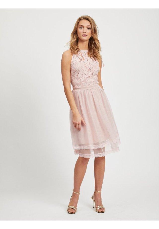 Sukienka koktajlowa - pale mauve