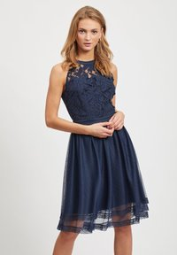 Vila - Cocktailjurk - dark blue - 0