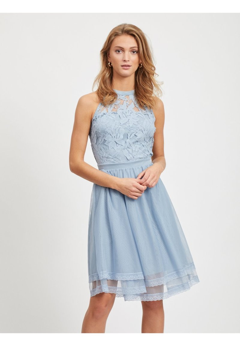 Vila - Cocktail dress / Party dress - ashley blue