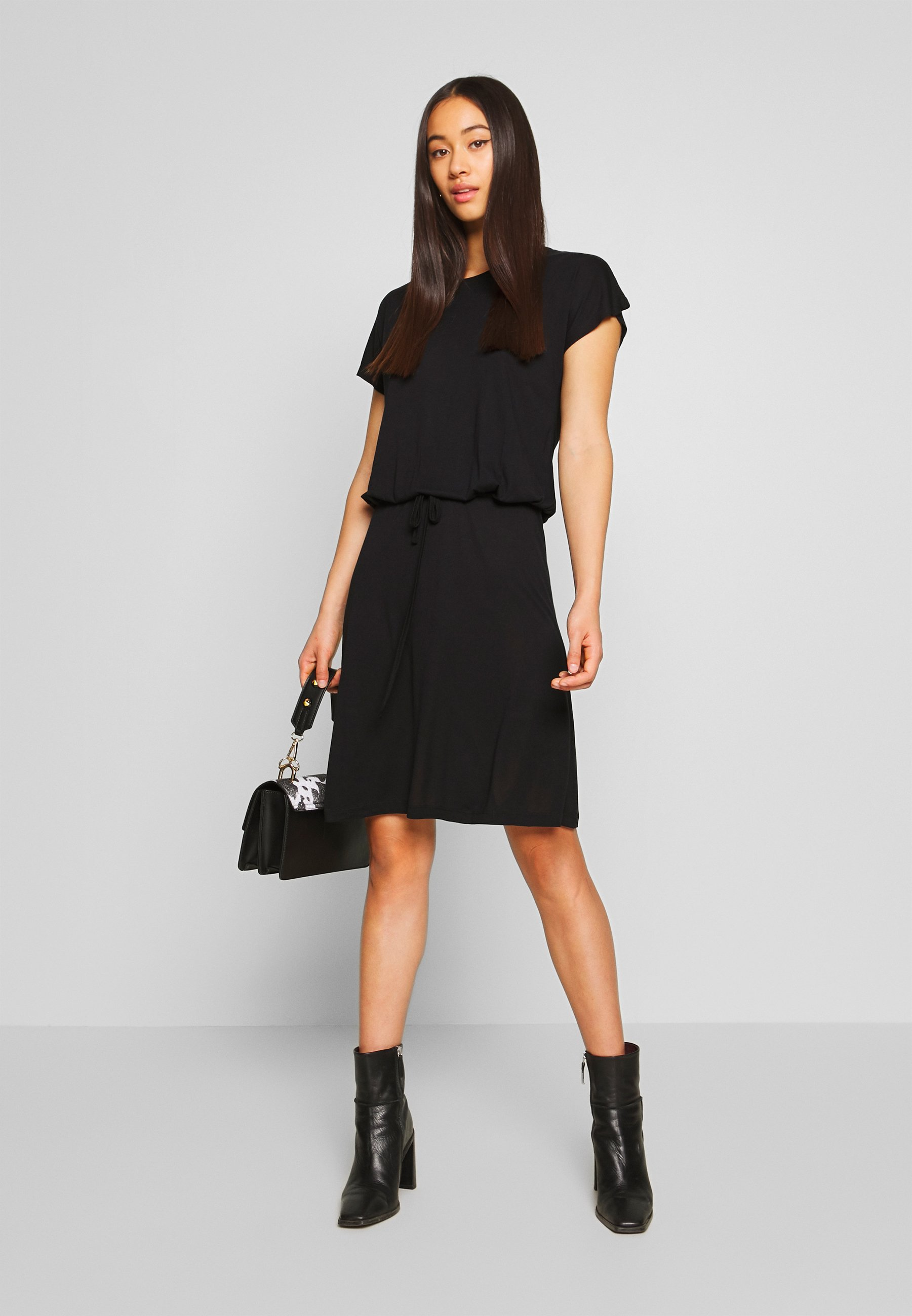 Vila Viagnes Dress - Jerseykjoler Black