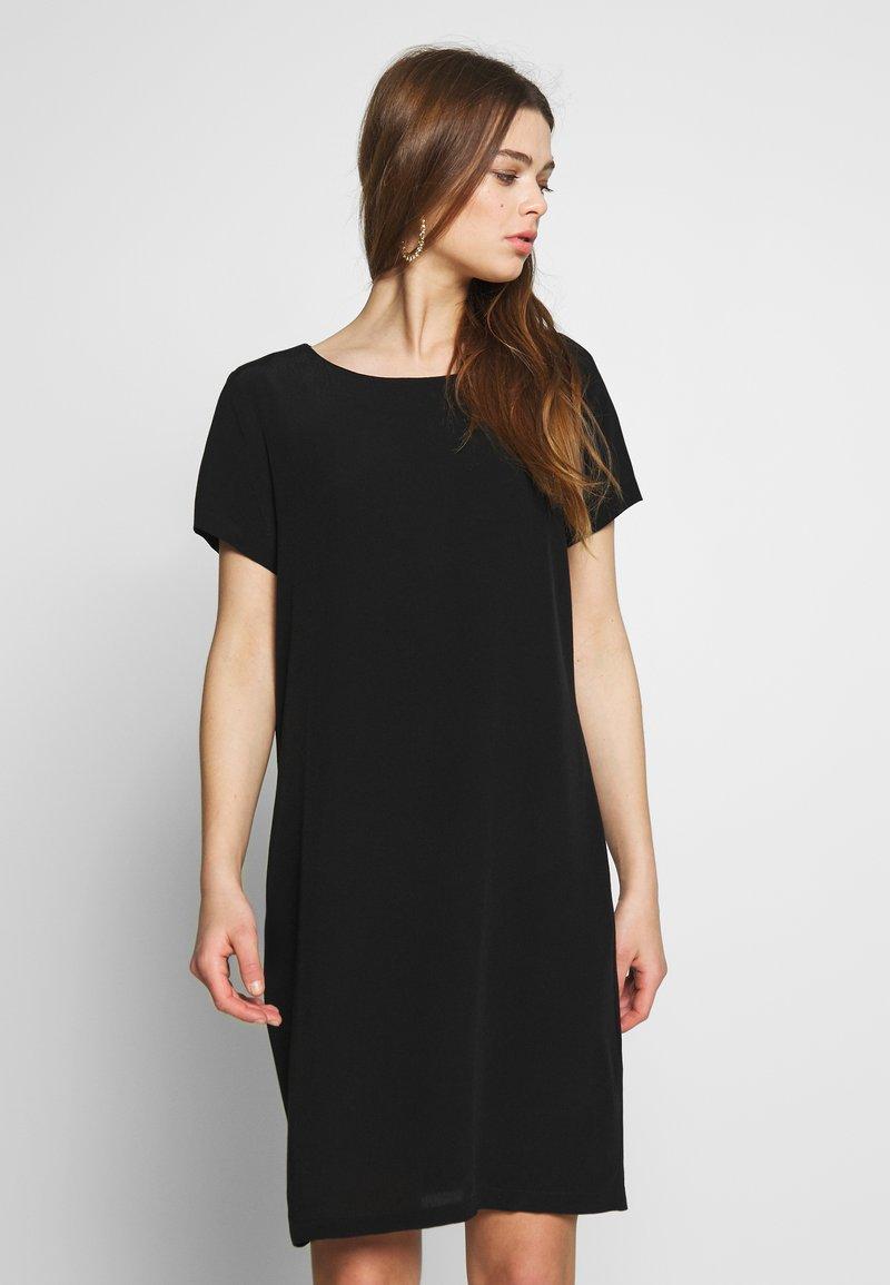 Vila - VIPRIMERA  - Korte jurk - black