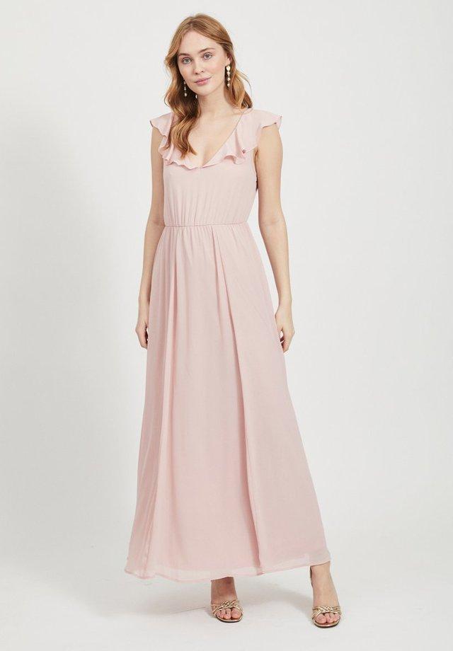 VIRANNSIL  - Długa sukienka - pale mauve