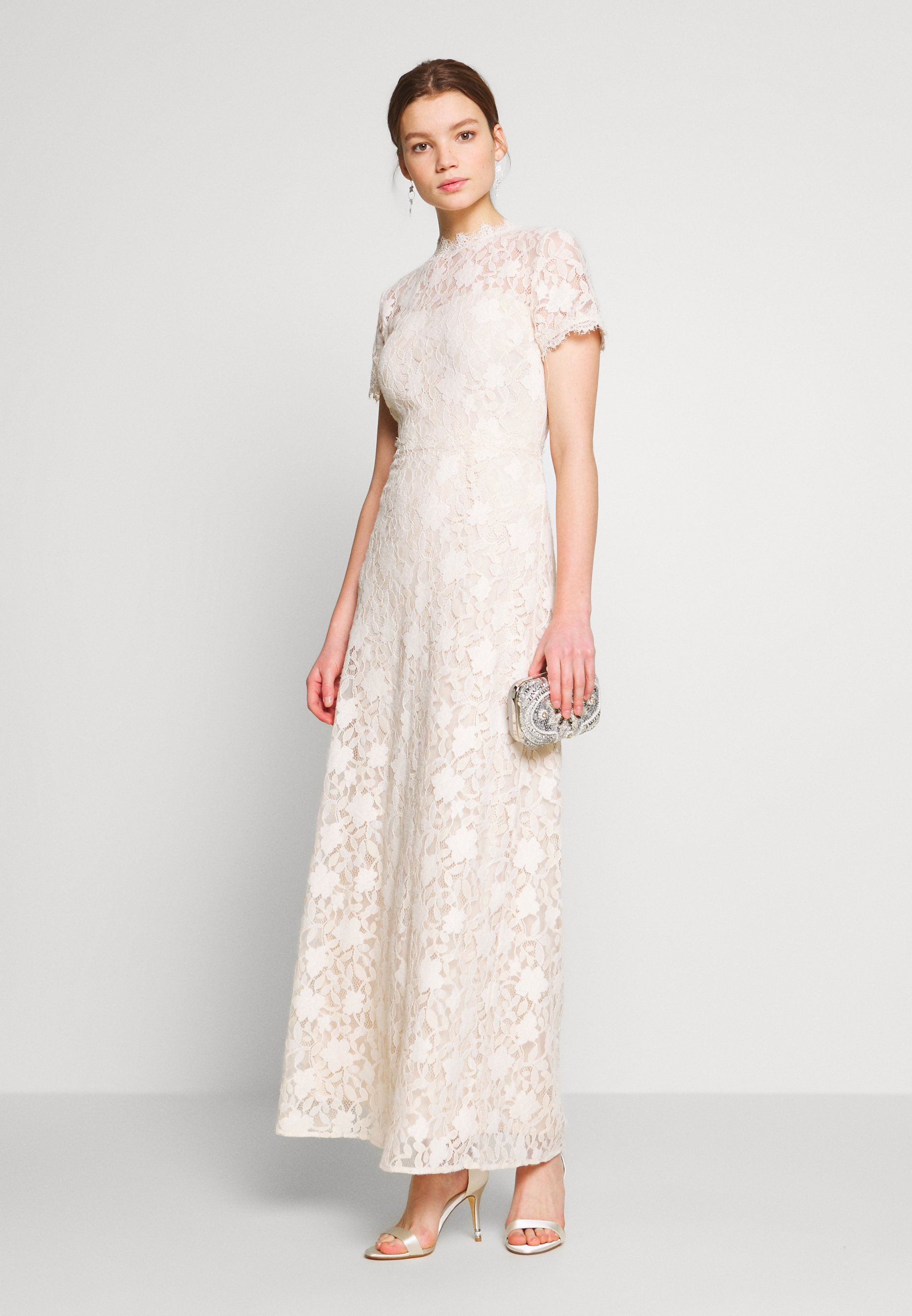 Vila VICORALIA MAXI DRESS - Suknia balowa - cloud dancer