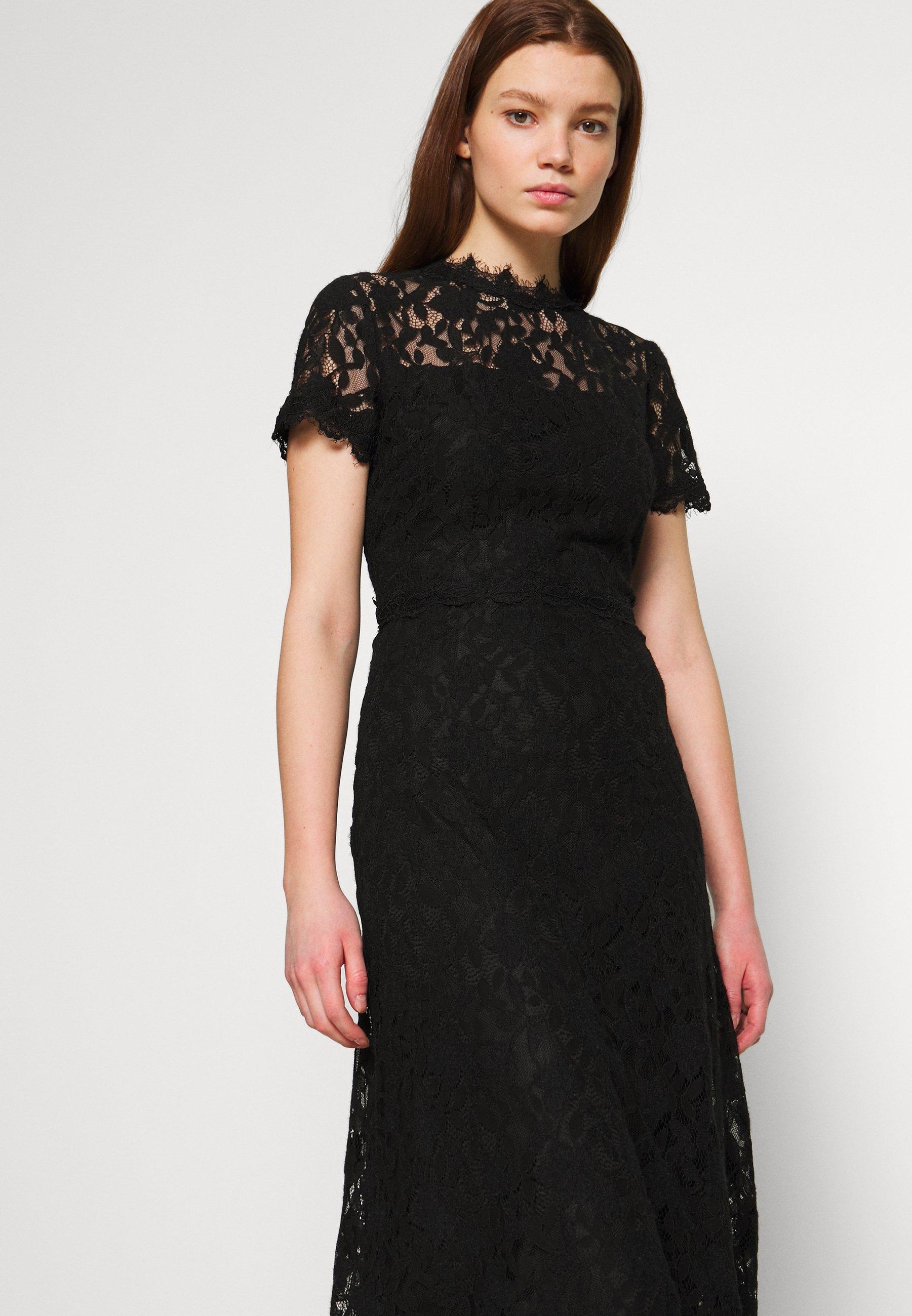 Vila Vicoralia Maxi Dress - Gallakjole Black