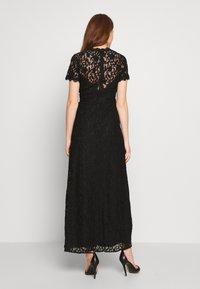 Vila - VICORALIA MAXI DRESS - Společenské šaty - black - 2