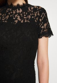 Vila - VICORALIA MAXI DRESS - Společenské šaty - black - 5