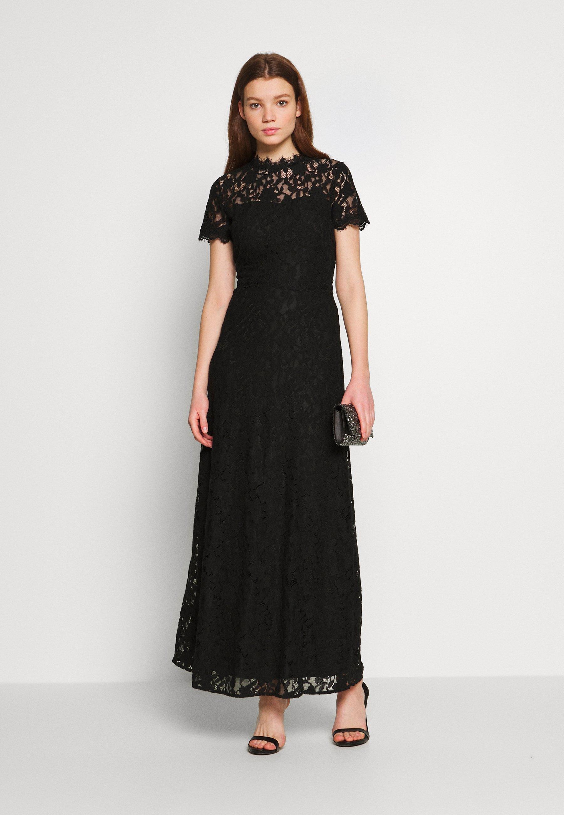 Vila Vicoralia Maxi Dress - Festklänning Black