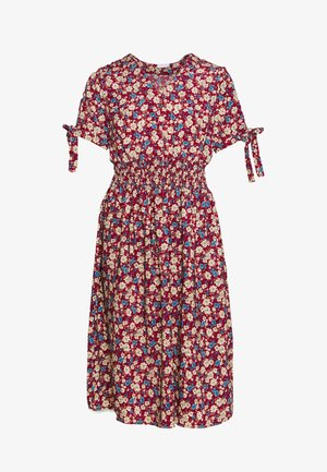VISORRENTO SMOCK MIDI DRESS - Day dress - winetasting