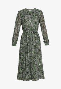 Vila - VIJEMOCARLIA MIDI DRESS - Day dress - loden frost - 4