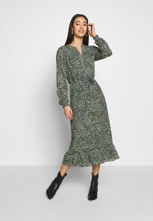 VIJEMOCARLIA MIDI DRESS - Korte jurk - loden frost
