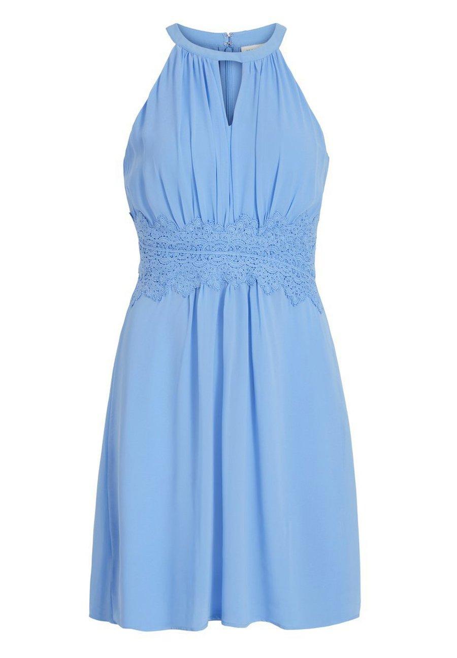 Vila VIMILINA HALTERNECK DRESS/SU - NOOS - Sukienka letnia - ashley blue