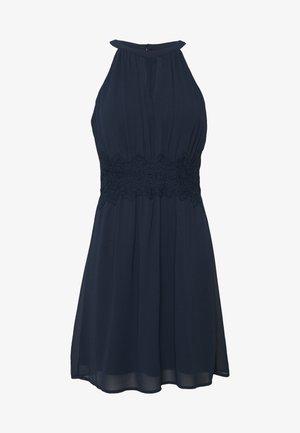 VIMILINA HALTERNECK DRESS/SU - NOOS - Korte jurk - total eclipse