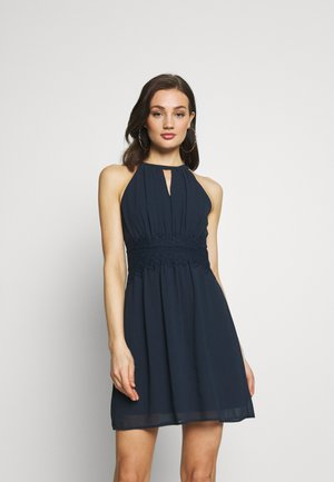 VIMILINA HALTERNECK DRESS/SU - NOOS - Robe d'été - total eclipse